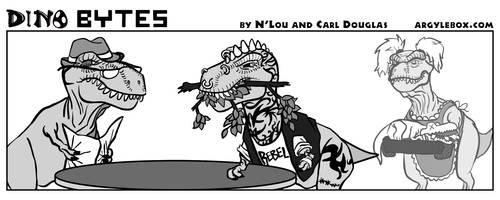 Dino Bytes - Rebel Rebel by CeeEmmDee