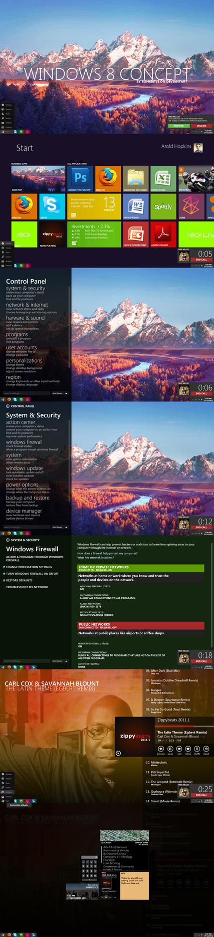 Windows 8 Metro v3.2 by Bonkietje