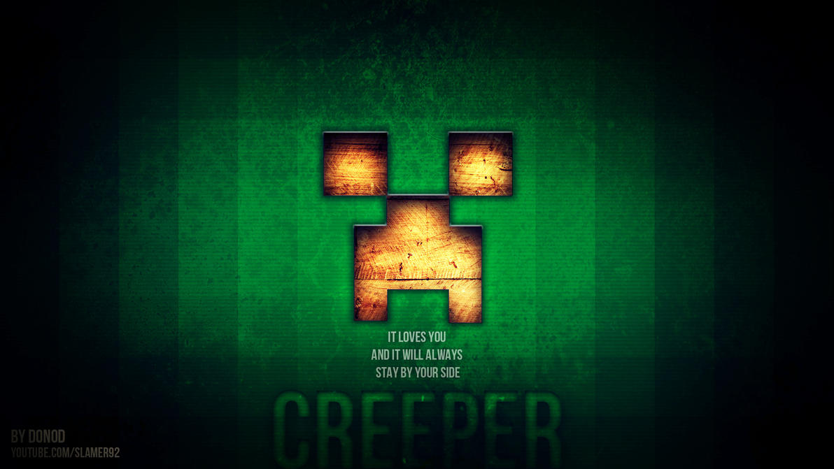 Download Wallpaper Minecraft Quote - minecraft_creeper_full_hd_by_boarderseven-d63yzxi  Gallery_962780.jpg