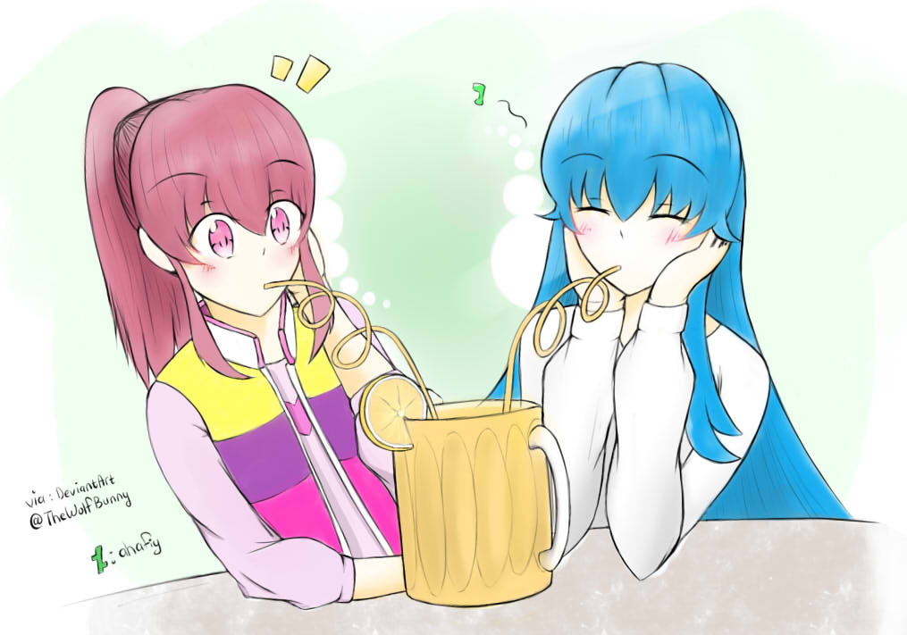 Drawing Request #7: Megumi Aino n Shirayuki Hime by ahafiy
