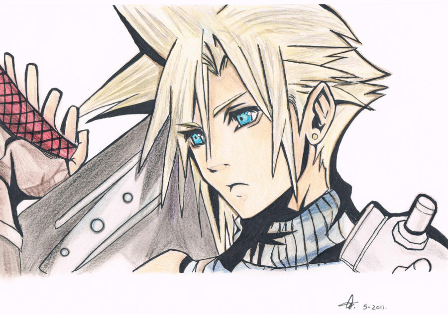 Cloud Strife - Dissidia by Chocolate-Luver
