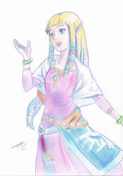 Zelda - Skyward Sword by Chocolate-Luver