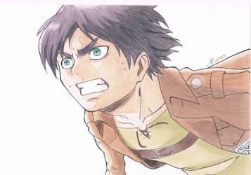 Eren Jaeger by Chocolate-Luver