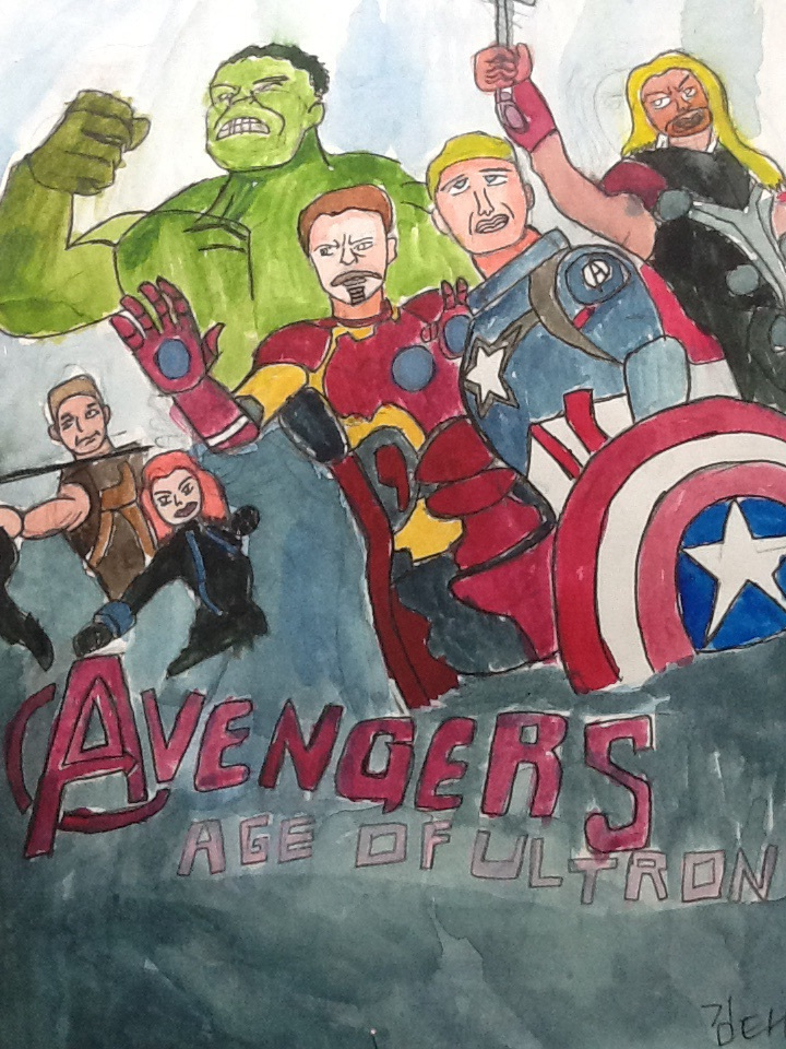 Avengers Age Of Ultron By Iloegbunam On Deviantart: Avengers: Age Of Ultron Poster By Ironboytyler On DeviantArt