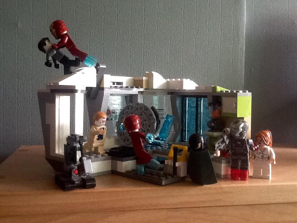 lego iron man 3 wallpaper - photo #15