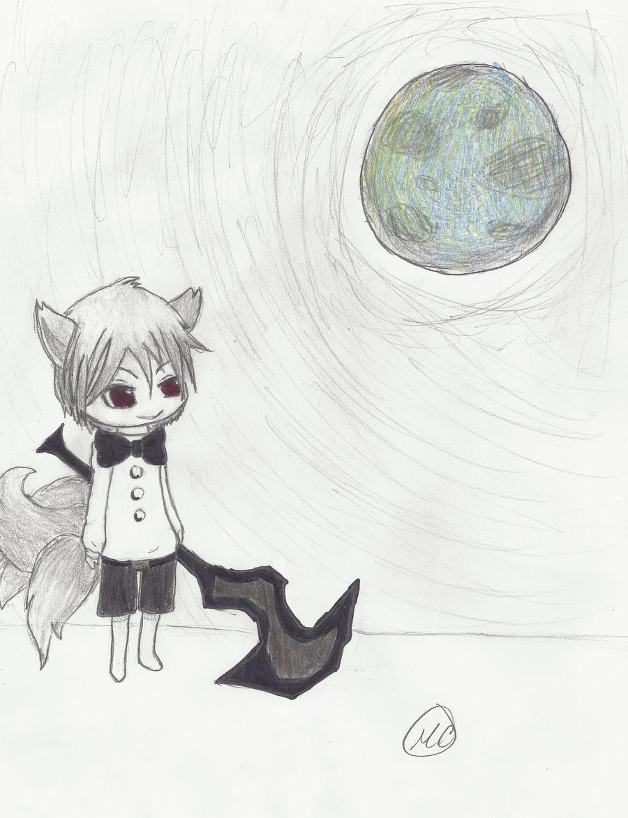 Anime Wolf Boy Chibi Commision Chibi Wolf Boy