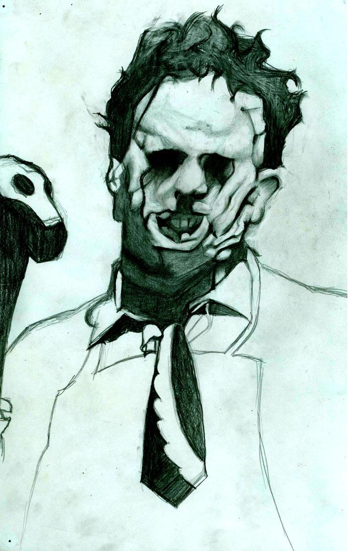 Leatherface by FrankensteinBoblhead on deviantART
