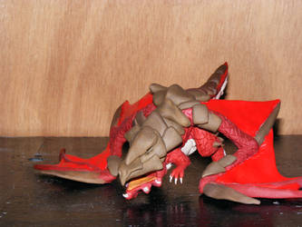 red proto drake 2 by witchdochaven