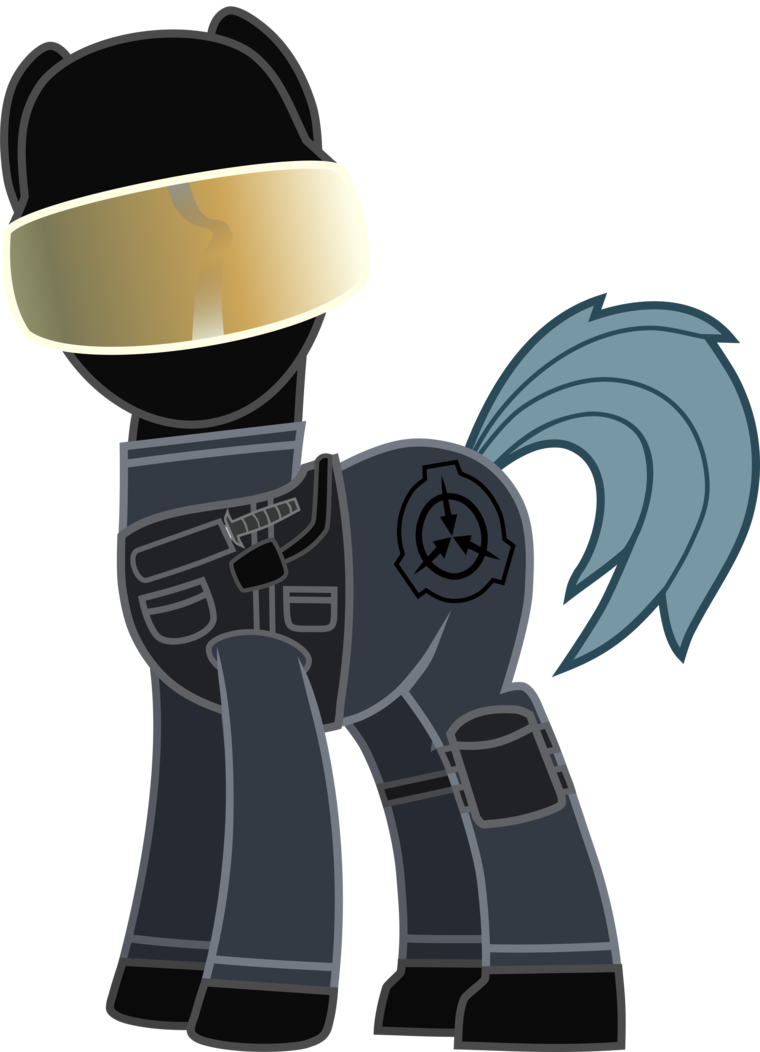Scp pony by Awesomeeleking5