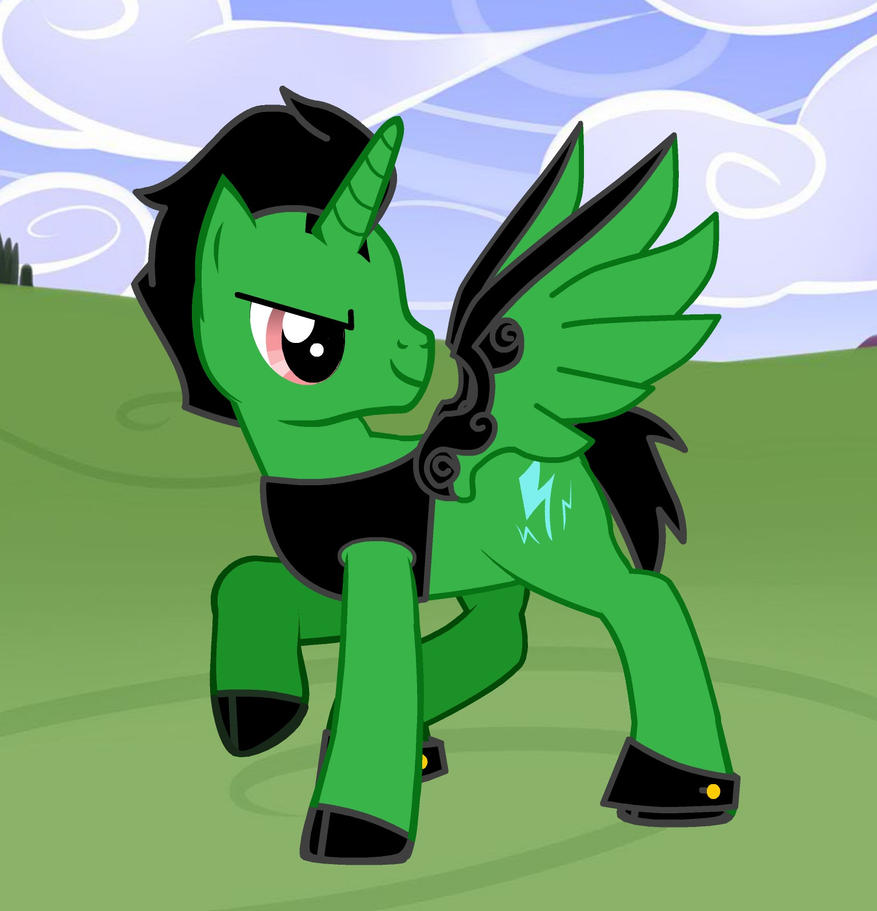 MLP perfect cell pony by Awesomeeleking5