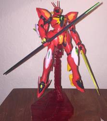 Gundam kitbash: XVMT-AVT Ghidra