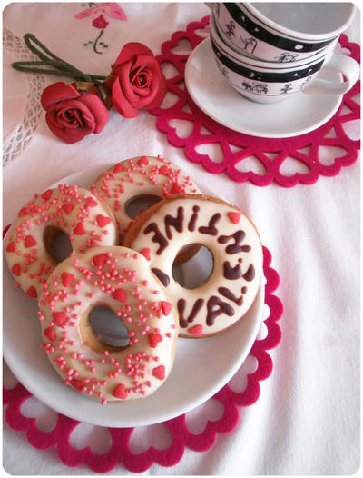 S. Valentine's Donuts by MeYaIeM