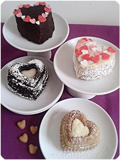 St Valentine's minicakes by MeYaIeM