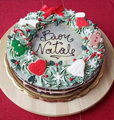 Christmas Cake by MeYaIeM