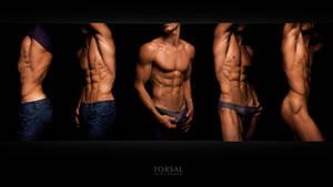young men strip