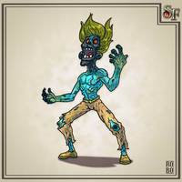 Sealed Fate #13 Blackhead Zombie by Wyndagger