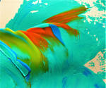 colored wave