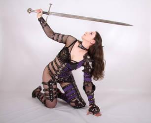 Female Warrior 2 by ghosttrin