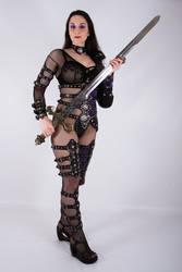 Female Warrior 3 by ghosttrin