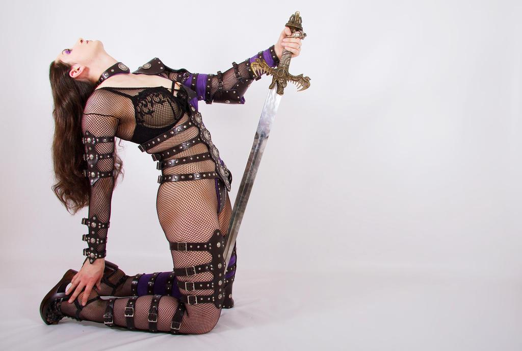 Female Warrior 4 by ghosttrin