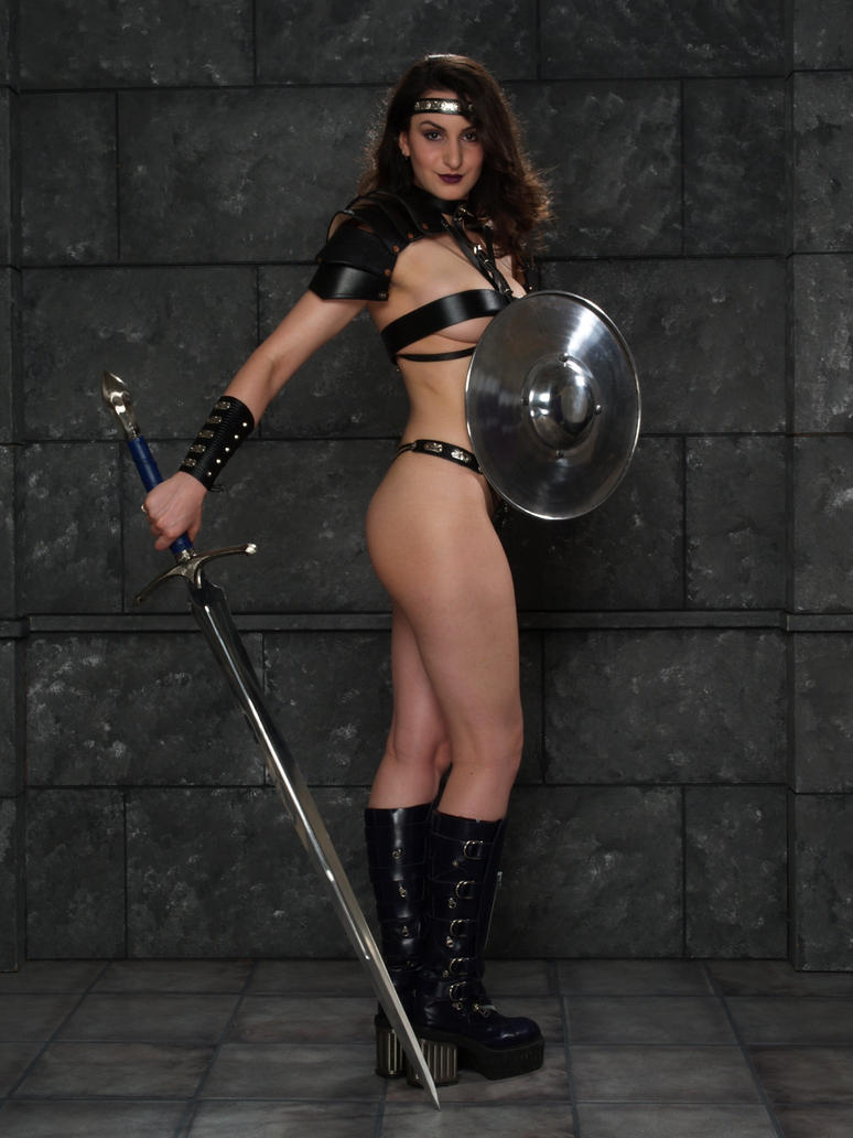 Women Wearing Revealing Warrior Outfits - Page 16 Fantasy_warrior_by_ghosttrin