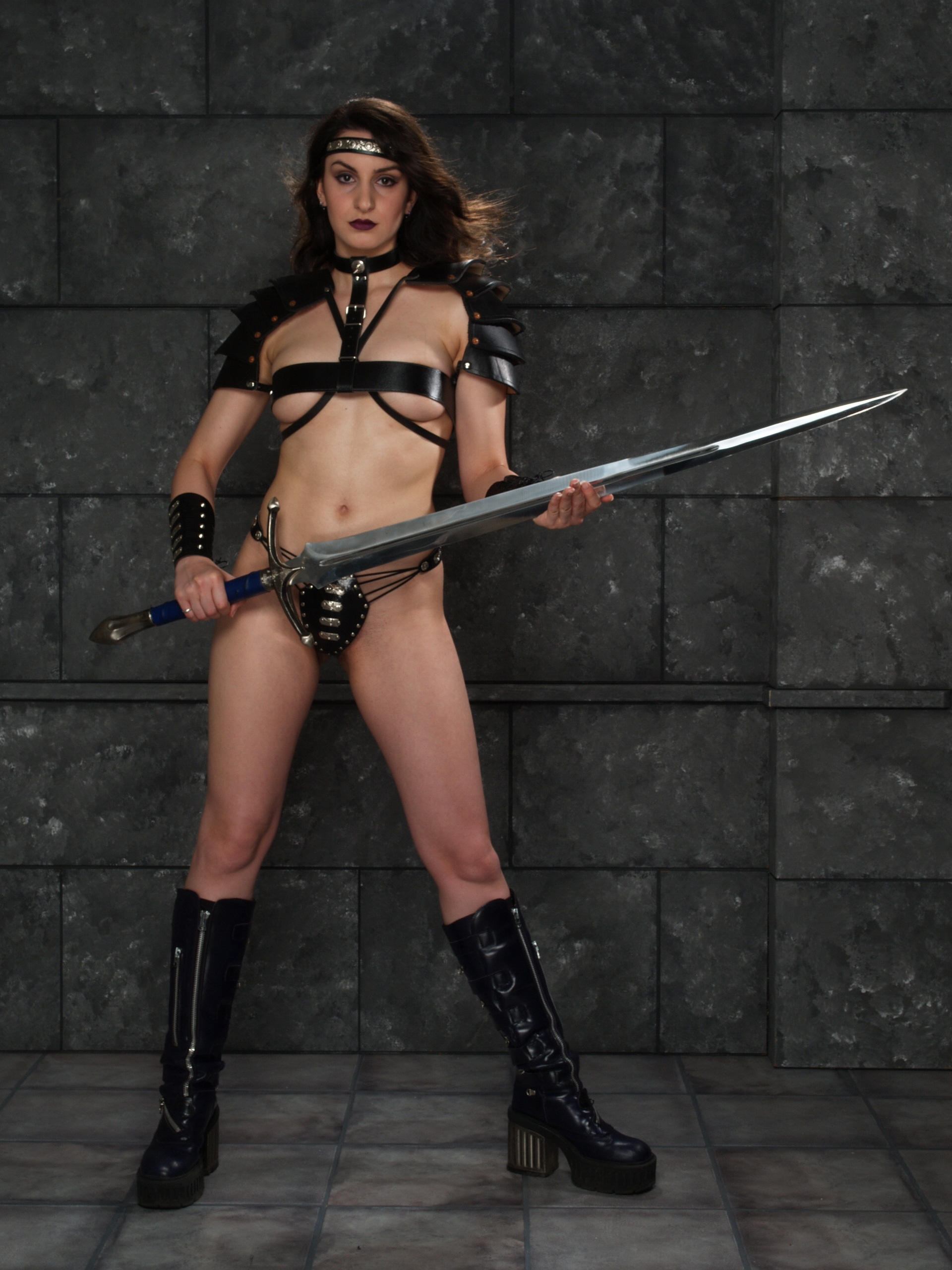 3d topless fantasy warrior women nude movies