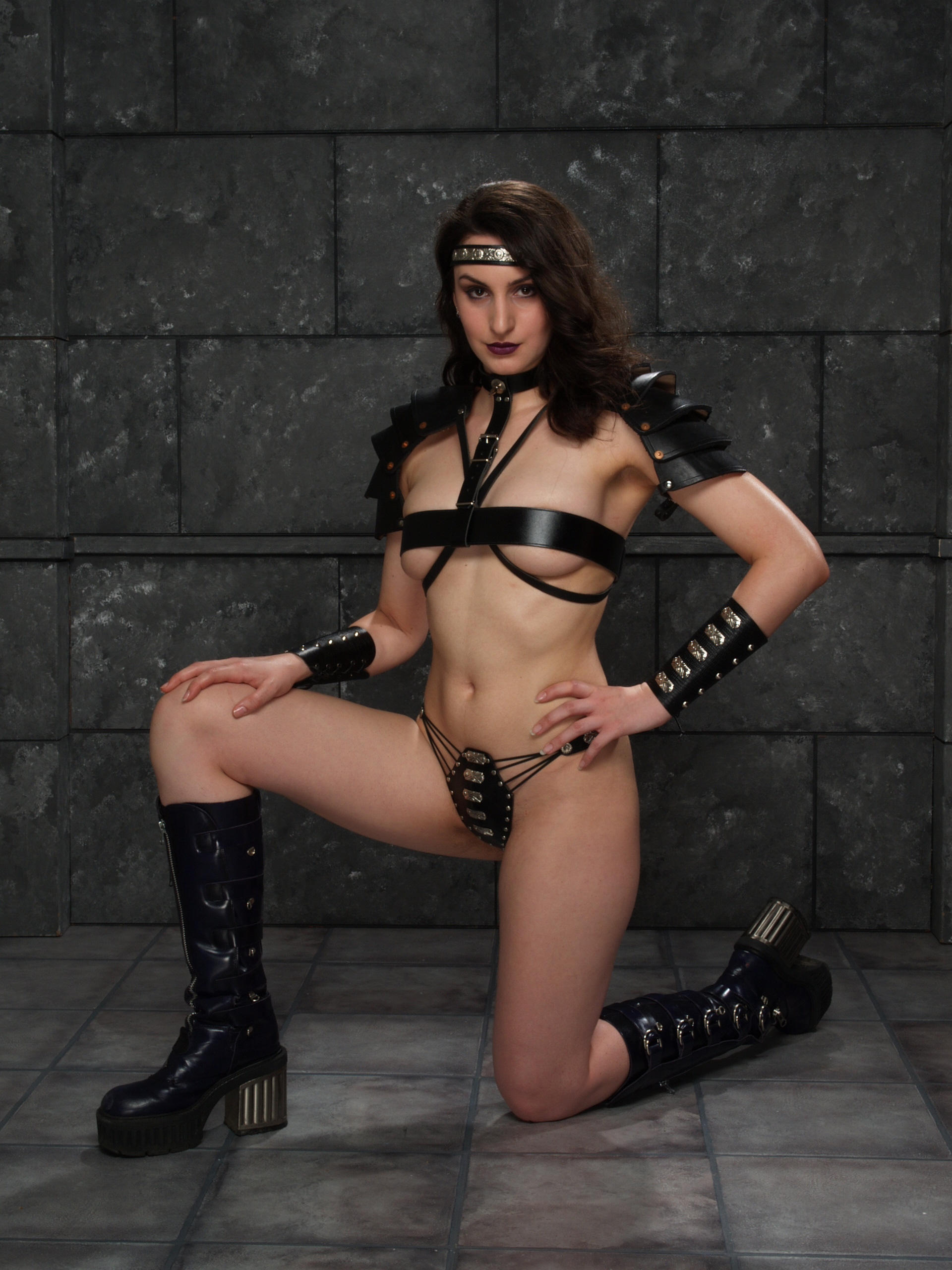 Oui voila erotic woman warrior fantasy art been