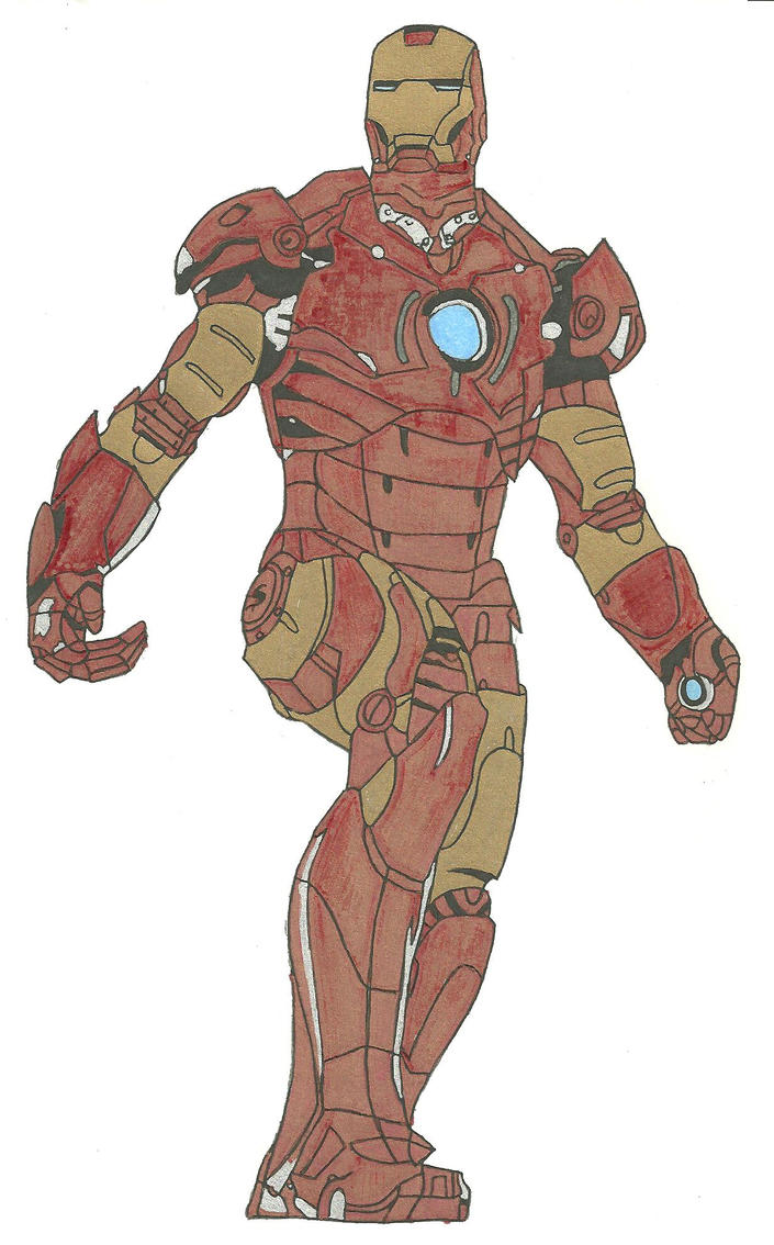 Iron Man by EDSW-Group