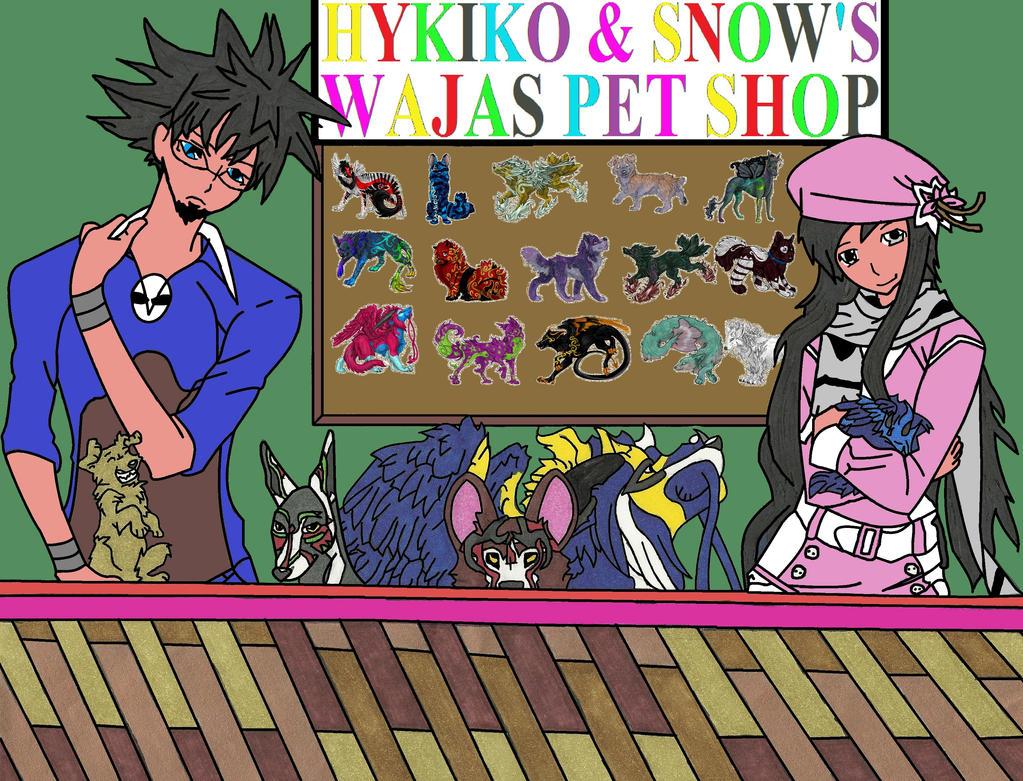 Hykiko & Snow's Wajas Pet Shop Digital by EDSW-Group
