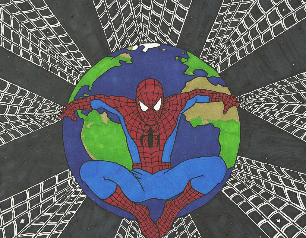 Atlas Spiderman by EDSW-Group