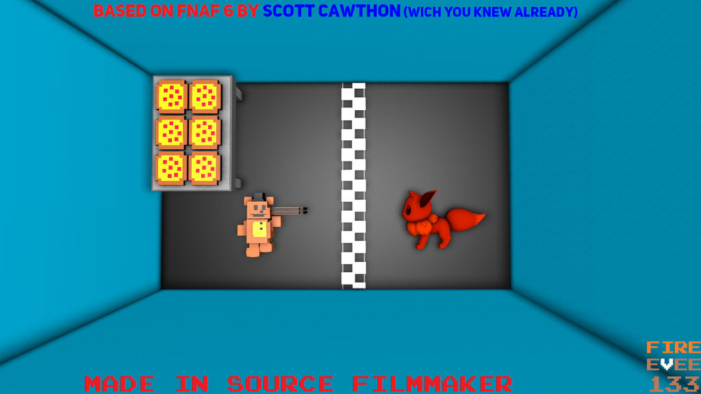 FNAF 6 begin minigame (why did i make this   ) by