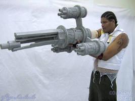 Final Fantasy - Barret by cosplaybrasil