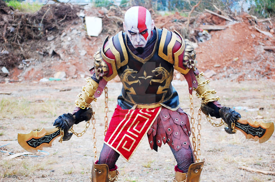 Kratos by cosplaybrasil