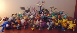 Pokemon Figure Collection by Cerpkakie