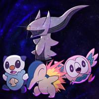 Pokemon Legends: Arceus by Cerpkakie