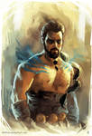 [ Khal Drogo ] Speed_Painting
