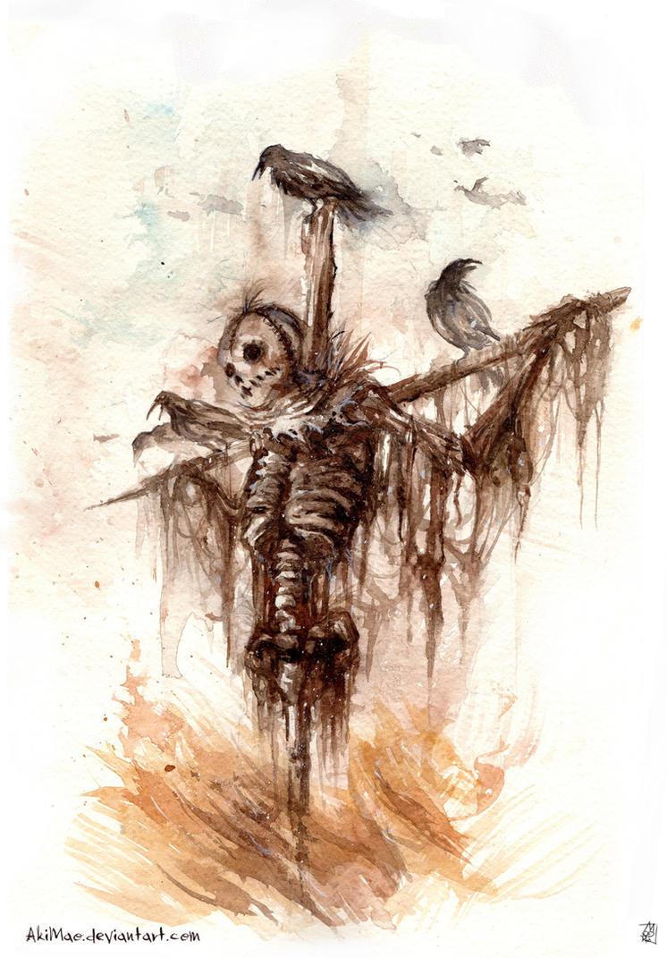 Scarecrow by AkiMao