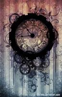 STEAMPUNK clock by AkiMao