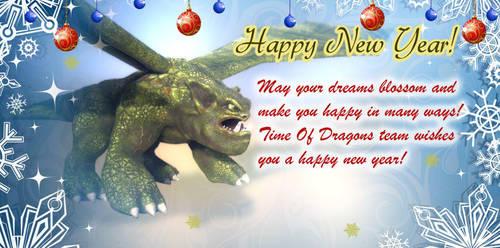 Happy New Year! by 4iLab