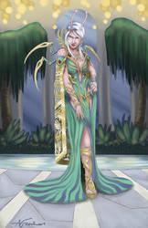 Zeva in the Pools of Paradise