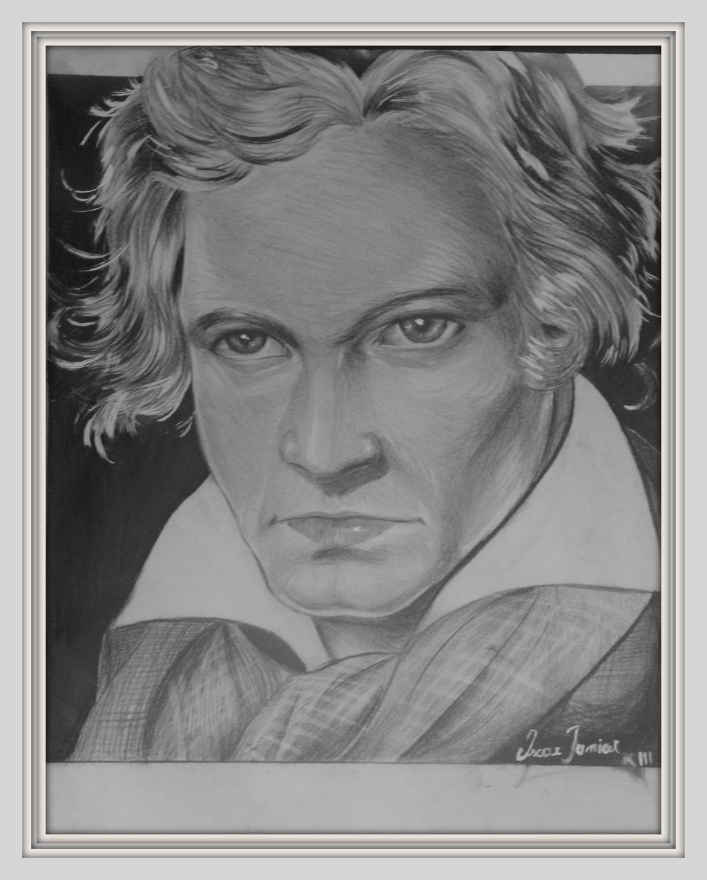 Ludwig van Beethoven by Oscarliima