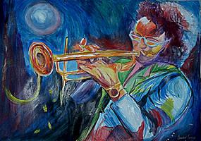 Miles Davis by Oscarliima