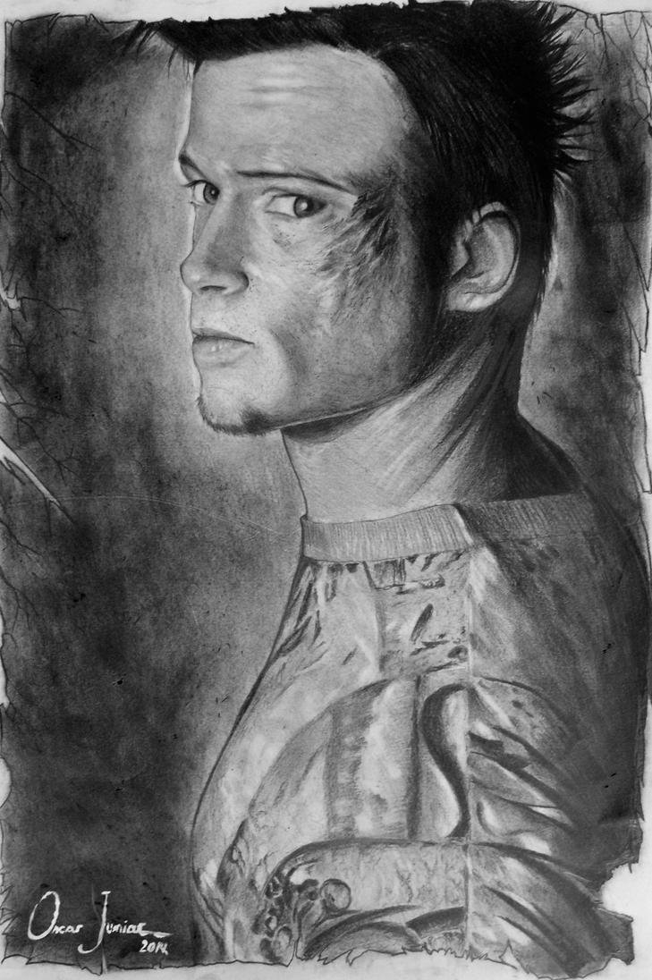 Tyler Durden by Oscarliima