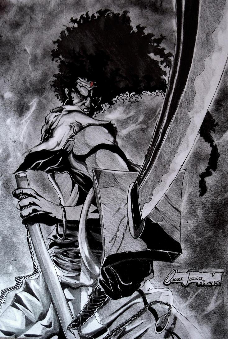 Afro Samurai by Oscarliima