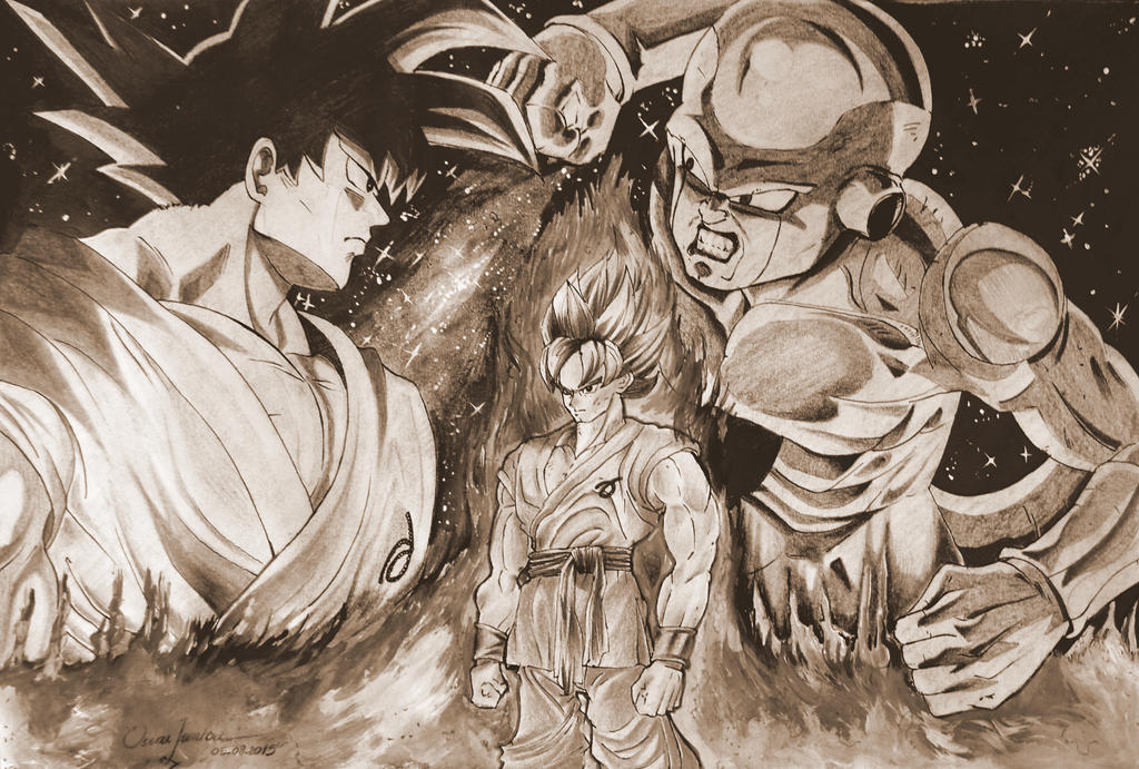 Dragon Ball Z: Fukkatsu no F by Oscarliima