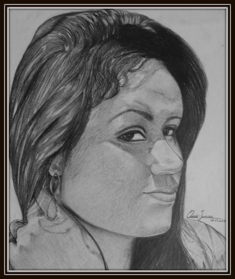 Adriana Calixto by Oscarliima