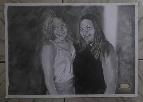 Gih Barbosa And Aunt Maria
