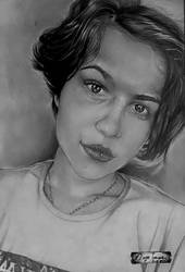 Larissa Botelho I by Oscarliima
