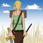Adventure girl -color-