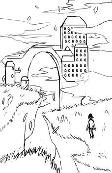 City of Milune - First sketch